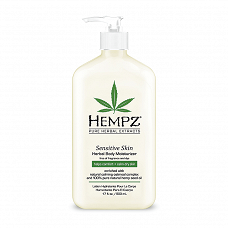 Hempz Sensitive Skin Herbal Body Moisturizer - 500ml