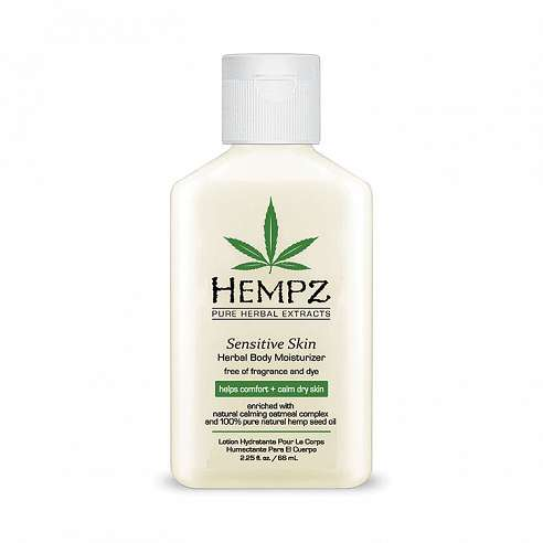 Hempz Sensitive Skin Herbal Body Moisturizer - 66ml