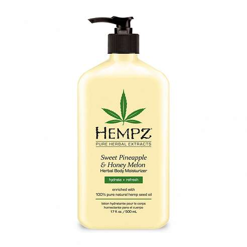 Hempz Sweet Pineapple & Honey Melon Herbal Body Moisturizer - 500ml