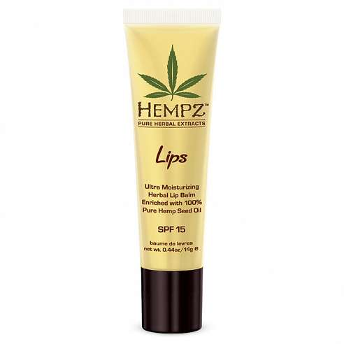 Hempz Ultra Moisturizing Herbal Lip Balm - 14gr