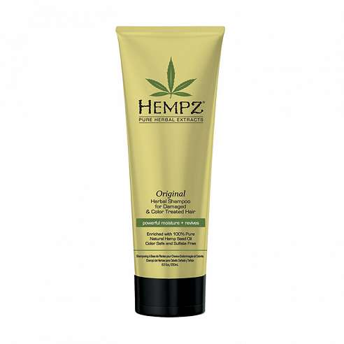 Hempz Original Herbal Shampoo for Damaged & Color Treated Hair - 265ml